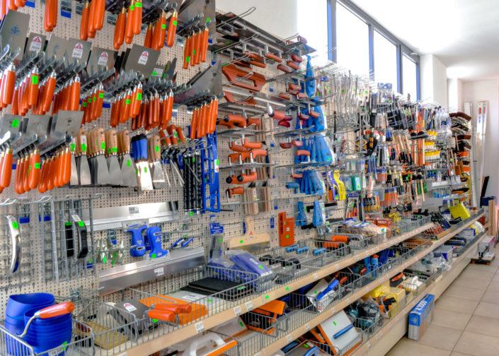 Bild zeigt Werkzeugwand der Stefan Kapsner OHG