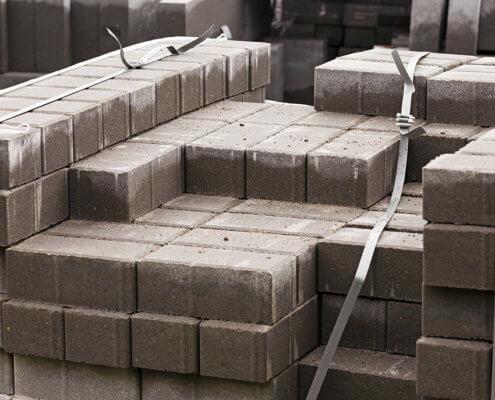 Bild zeigt Baustoff Pflastersteine
