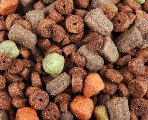Bild zeigt Trockenfutter für Hunde