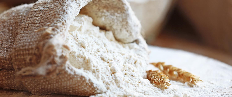Bild zeigt einen Sack Mehl